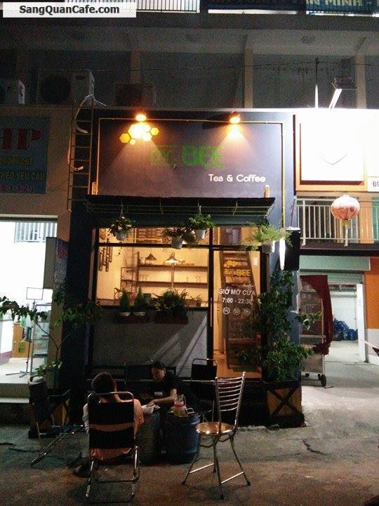 Sang quán Cafe - Tea máy lạnh trước cổng Trường CĐ TC Hải Quan