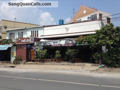 Sang quán cafe Thị trấn Hóc Môn