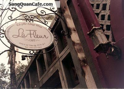 sang quán cafe thiết kế đẹp, Lê Văn Sỹ, Q.3