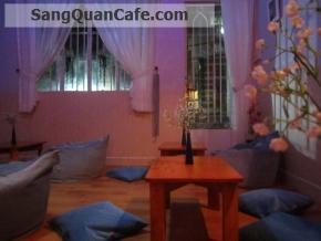 Sang quán cafe thiết kế đẹp, Q.3
