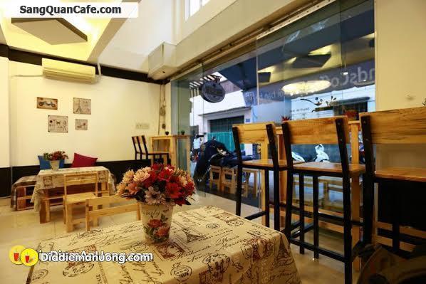 Sang quán cafe - thức ăn nhanh tại quận 5