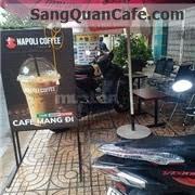 Sang quán Cafe thương hiệu Napoli giá rẻ