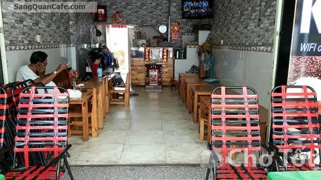 Sang quán cafe Tiamo 2 mặt tiền quận Tân Phú