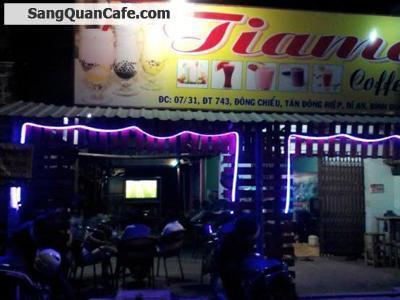 Sang quán cafe TIAMO Bình Dương