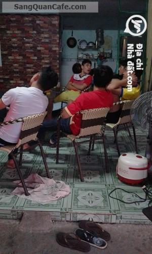 Sang quán cafe trà sữa 2 mặt tiền vị trí đẹp KDC Thuận Giao