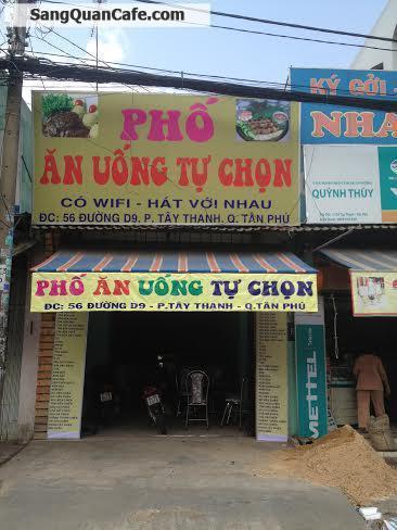 Sang quán cafe+ Trà sữa+ Acoustic  quận Tân Phú