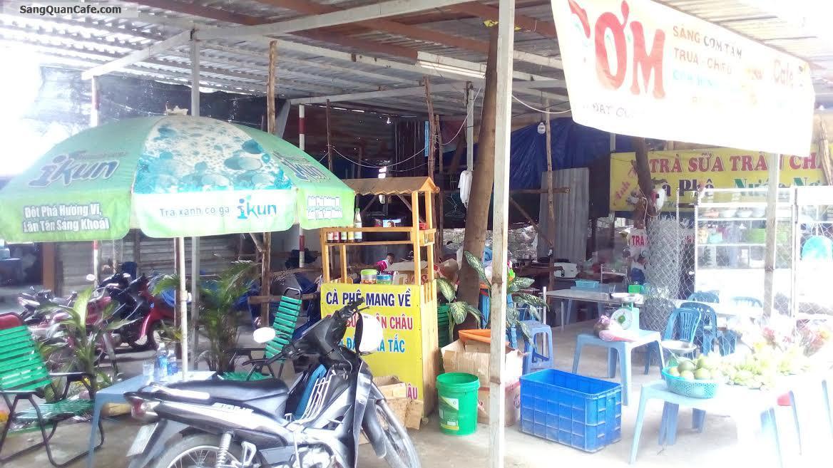 Sang quán cafe, trà sữa, cơm mặt tiền đường
