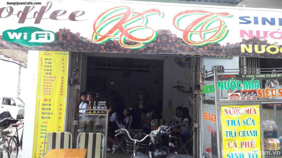 Sang quán cafe, trà sữa, kem quận Bình Tân