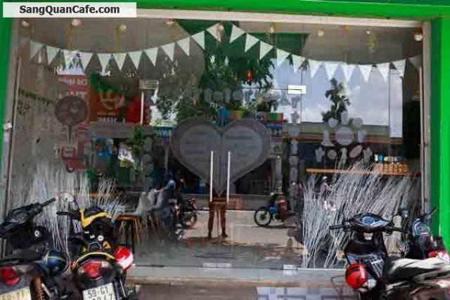 Sang quán cafe, trà sữa mặt tiền