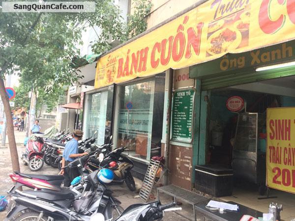 Sang quán cafe - Trà Sữa mặt tiền quận Bình Thạnh
