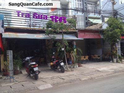 Sang quán Cafe Trà Sữa - Máy lạnh đường Man Thiện