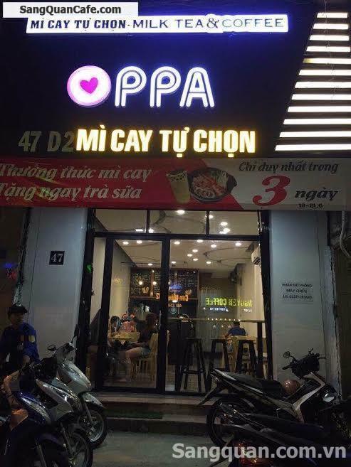 Sang quán cafe, trà sữa, Mì Cay quận Bình Thạnh