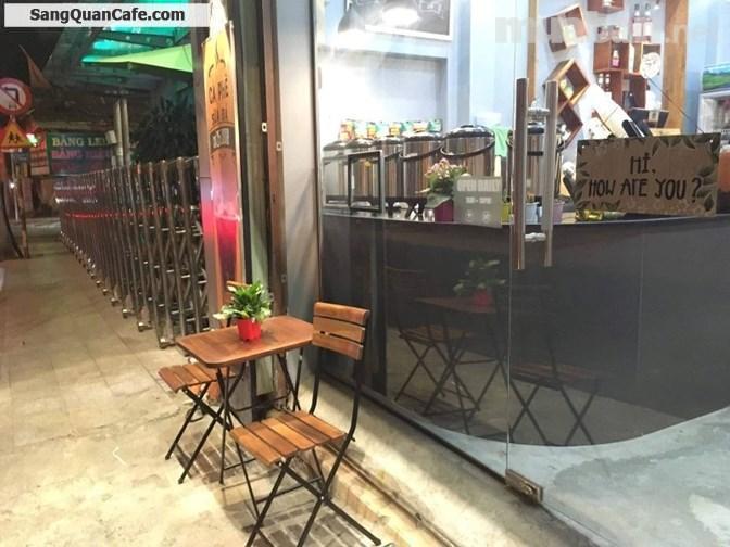 Sang mặt bằng hoặc quán Cafe &trà sữa máy lạnh