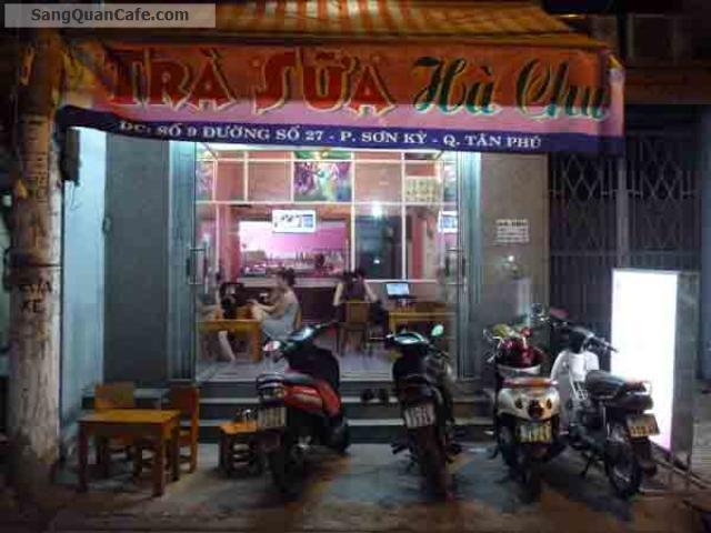 Sang quán cafe, trà sữa quận Tân Phú