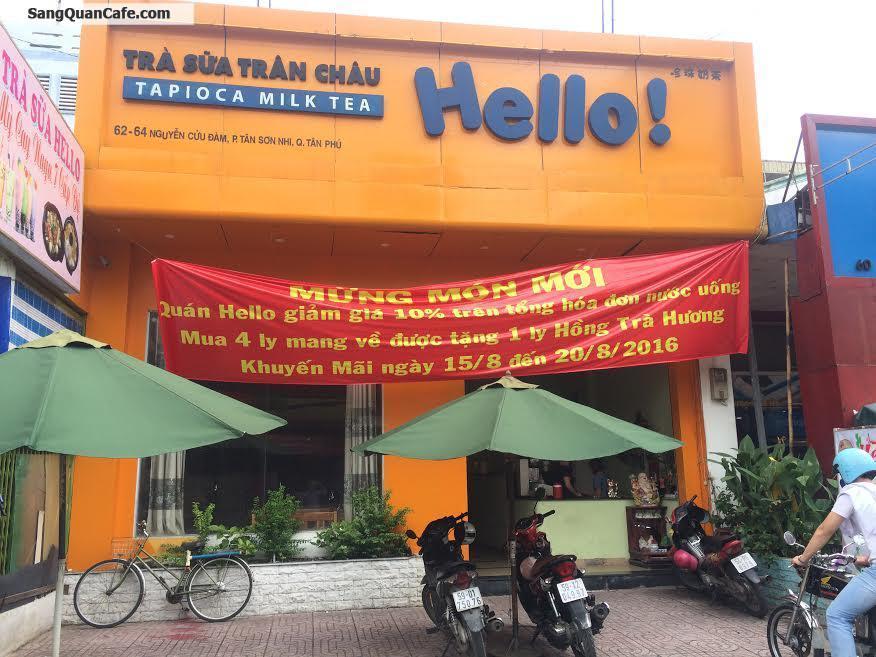 Sang quán cafe trà sữa quận Tân Phú