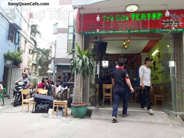 Sang quán cafe, trà sữa( Sinh tố nước ép.. ) Trương Quốc Dung, Phú Nhuận
