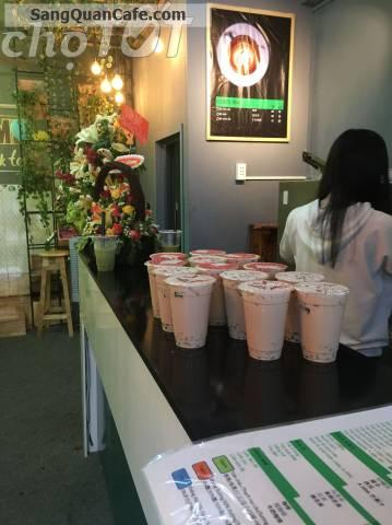 Sang quán cafe trà sữa thức ăn nhanh ngay trường Đại học Công Nghiệp 4