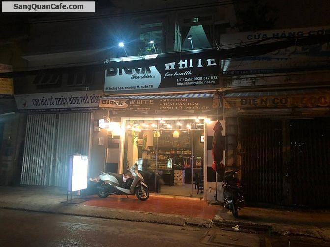 Sang quán cafe - trái cây dầm tại quận Tân Bình