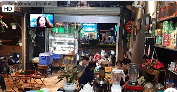 Sang quán cafe trái cây tô góc 2 mặt tiền