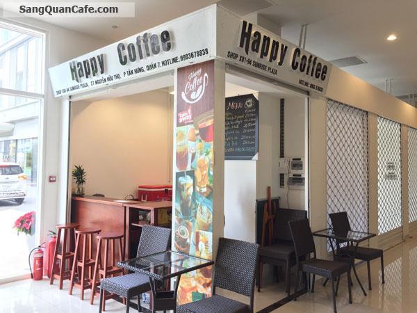 Sang quán cafe trong Sunrise Plaza quận 7