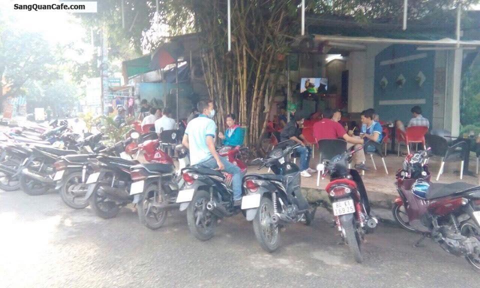 Sang quán cafe Trúc Xanh góc 2 mặt tiền