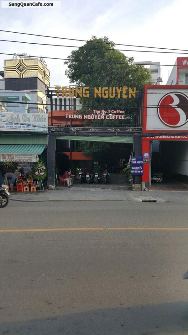 Sang quán cafe Trung Nguyên Mặt Tiền Hậu Giang