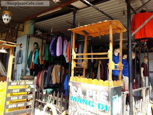 Sang quán cafe và shop thời trang 2 mặt tiền Biên Hòa Đồng Nai