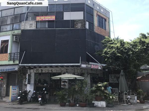 Sang quán cafe vị trí cực đẹp góc 2 mặt tiền