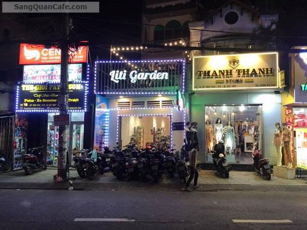 Sang quán cafe vị trí cực đẹp quận Gò Vấp