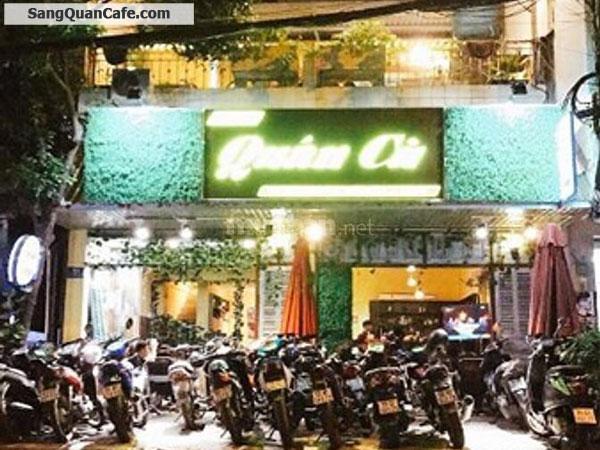 Sang quán cafe vị trí đắc địa quận Tân Phú