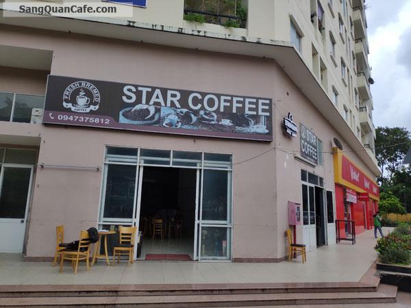 Sang quan cafe vị trí đẹp kinh doanh thuận lợi