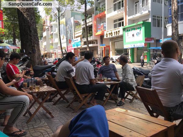 Sang quán cafe vị trí đẹp quận 5
