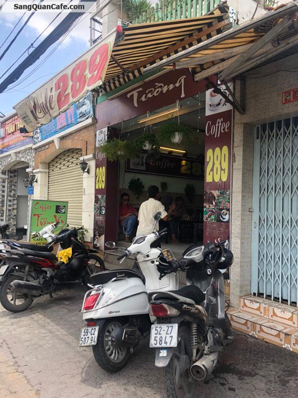Sang quán cafe vị trí đẹp trung tâm quận 7