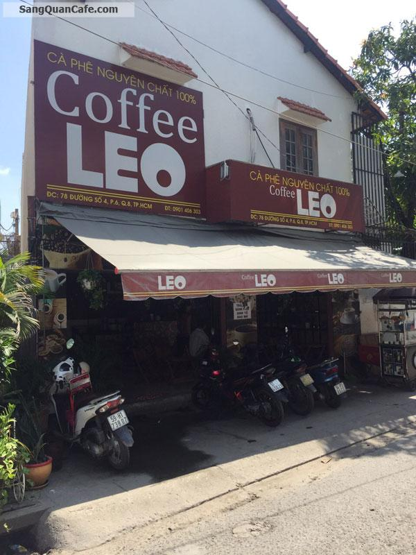 Sang Quán Cafe vị trí vip Nằm Góc Ngã 3