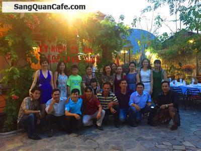 Sang quán cafe Villa sân vườn khu BT Thảo Điền