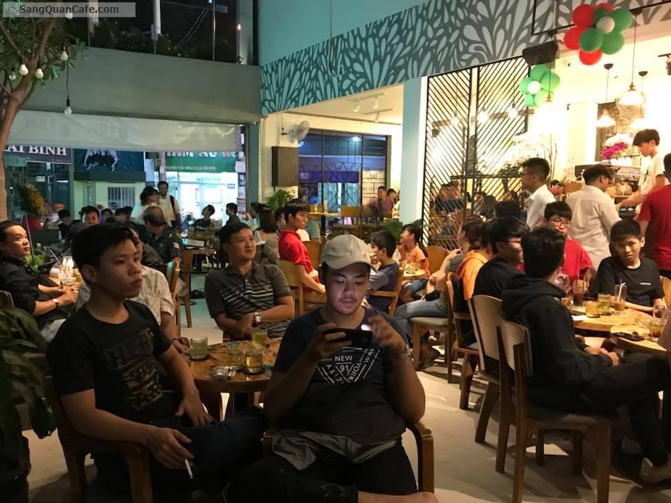 Sang quán cafe vinata khu K300, Tân Bình.