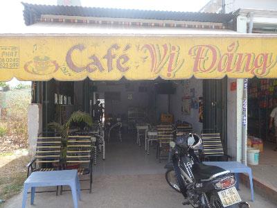 Sang quán cafe Võ Vân Vân , Bình Chánh