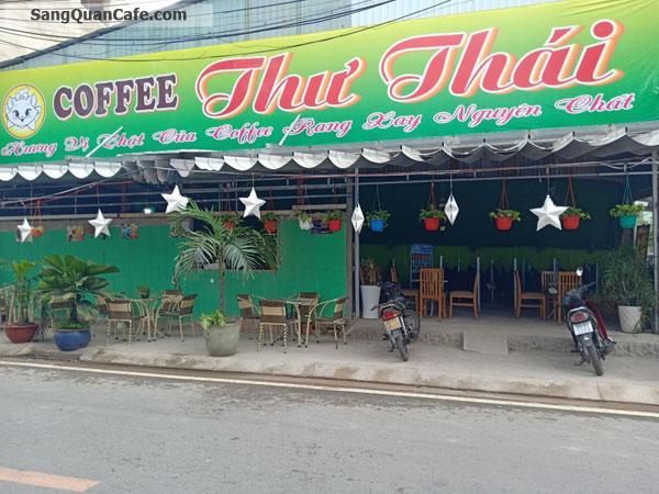 Sang quán cafe võng 2 mặt tiền