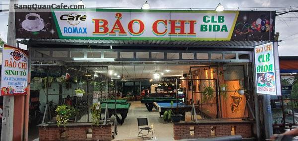 Sang quán cafe võng bida sân vườn Tô Ngọc Vân Q12