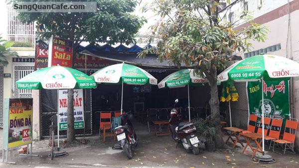 Sang quán cafe võng bóng đá k+ gần CV Phần Mềm Quang Trung
