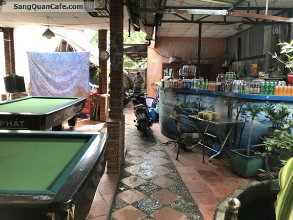 Sang quán cafe võng sân vườn bida vị trí đẹp