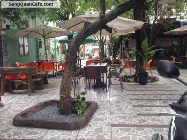 Sang quán Cafe võng - Sân vườn KDC Chánh Nghĩa