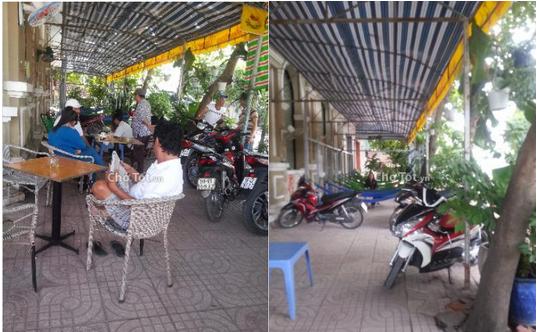 Sang quán cafe võng, sân vườn quận 8