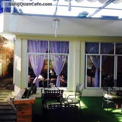 Sang quán cafe xay, Sân Vườn , Máy lạnh Q.7