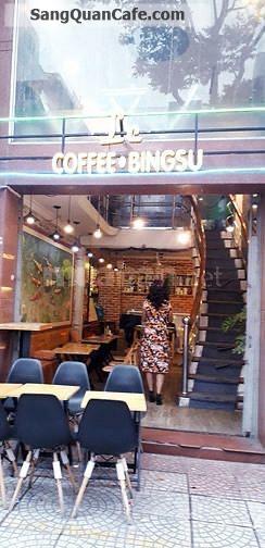 Sang quán caffe diện tích 65m2 quận 1