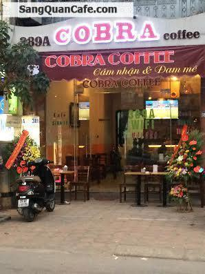 Sang quán COBRA COFFEE