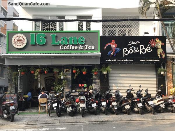 Sang quán Coffee 16 lane Quận Bình Thạnh