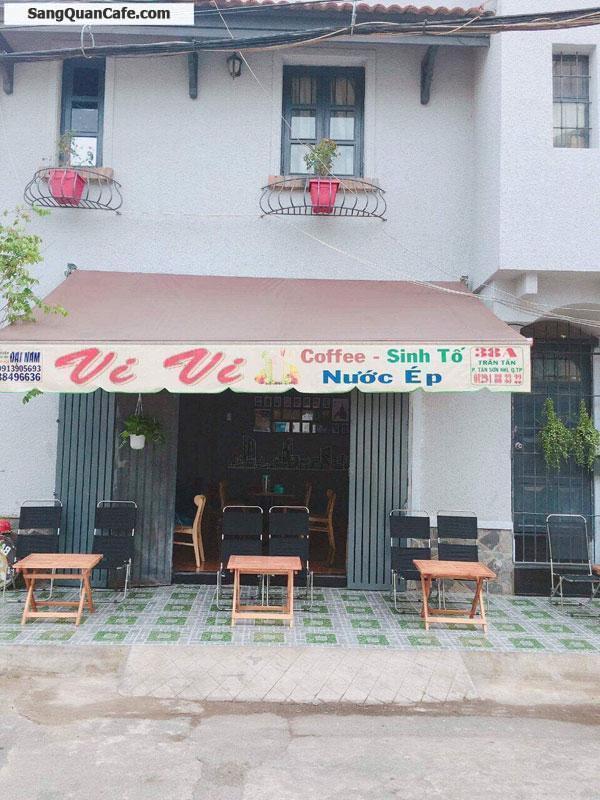 Sang quán coffee 2 mặt tiền đường Trần Tấn