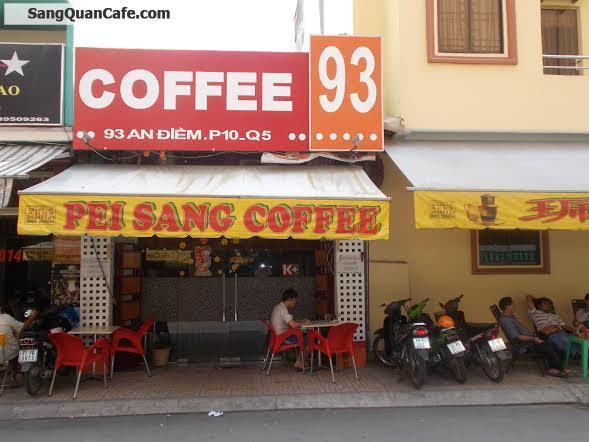 sang Quán Coffee bóng đá quận 5