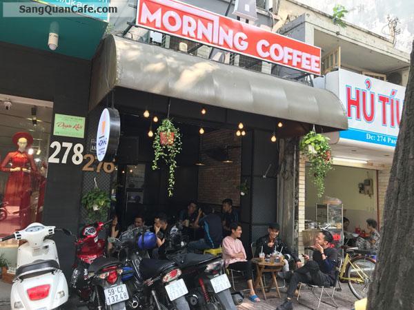 Sang quán coffee decor đẹp mặt tiền Pasteur trung tâm Quận 3